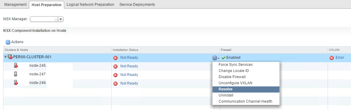 nsx bytes nsxv 63 host preparation fails with agent vib module not installed is life